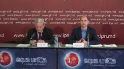 """Conferință de presă susținută de un grup de experți în energetică cu tema """"Neregulile comise de Silvia Radu la conducerea RED Union Fenosa"""""""