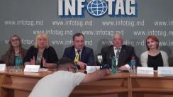 """Conferință de presă organizată de Academia de Muzică, Teatru și Arte plastice din Republica Moldova cu tema  """"Festivalul Internațional al Școlilor de Teatru """"ClassFest"""""""