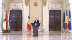 Declarație susținută de Președintele României, Klaus Iohannis