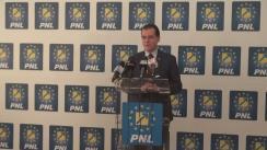 Conferință de presă susținută de Președintele PNL, Ludovic Orban