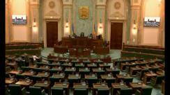 Ședința în plen a Senatului României din 3 mai 2018
