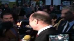 Declarațiile de presă acordate de Președintele României, Traian Băsescu, în urma vizitei de două zile în România a Președintelui Interimar, al Republicii Moldova, Președintele Parlamentului Republicii Moldova, Mihai Ghimpu