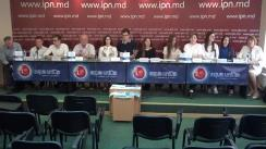 """Conferința de presă cu tema """"Metoda de predare și învățare PBL- în acțiune. Părerea studenților"""""""