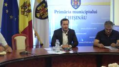 Ședința săptămânală a serviciilor primăriei Chișinău din 7 mai 2018