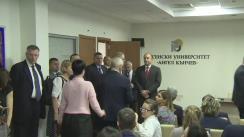 Declarații de presă comune ale șefilor de stat din România, Bulgaria și Austria
