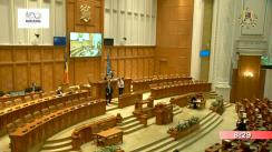 Ședința în plen a Camerei Deputaților României din 9 mai 2018