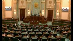 Ședința în plen a Senatului României din 9 mai 2018