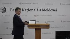 """Briefing de presă organizat de Banca Națională a Moldovei cu tema """"Raportul asupra inflației"""""""
