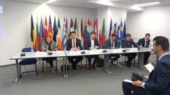 """Dezbaterea organizată de Institutul European din România cu tema """"Provocări actuale în domeniul securității cibernetice - impact și contribuția României în domeniu"""""""