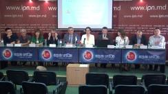 """Conferința de presă cu tema """"Relansarea activității Coaliției Civice pentru Alegeri Libere și Corecte"""""""