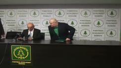 Partidul Ecologist Român: Conferință de presă