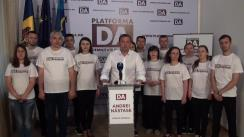 Conferință de presă susținută de candidatul Partidului Platforma Demnitate și Adevăr la funcția de primar general al municipiului Chișinău, Andrei Năstase și echipa sa
