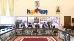Conferință de presă cu ocazia semnării contractului pentru Mănăstirea Frumoasa