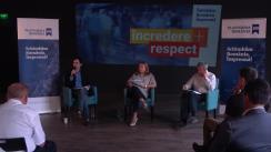 """Dezbaterea cu tema """"România: Stat refondator sau județ sărac al Europei?"""""""