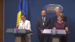 Declarație susținută de Ministrul Muncii și Protecției Sociale, Lia Olguța Vasilescu, după întâlnirea cu reprezentanții sindicatelor din sănatate