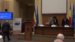 Conferință de presă organizată de Banca Națională a României pentru prezentarea Raportului trimestrial asupra inflației