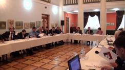 """Masa rotundă privind rolul modern al Armatei Naționale și dezbaterea publică a proiectului Programului """"Armata Profesională 2018 – 2021"""""""