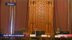 Ședința Comisiei speciale comună a Camerei Deputaților și Senatului pentru sistematizarea, unificarea și asigurarea stabilității legislative în domeniul justiției