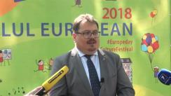 Briefing susținut de Ambasadorul UE în Republica Moldova, Peter Michalko