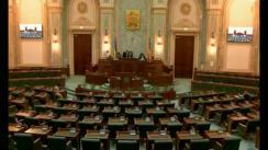 Ședința în plen a Senatului României din 16 mai 2018