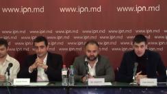 """Conferință de presă organizată de Alianța pentru Centenar cu tema """"START colectării milionului de semnături pentru Unirea cu România"""""""