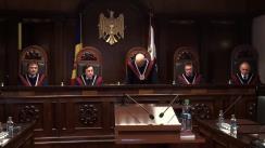 Curtea Constituțională examinează dacă hotărârile Consiliului Superior al Magistraturii (CSM) pot fi contestate numai în privința procedurii de adoptare/emitere