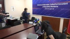 Briefing de presă organizat de Ministerul Educației, Culturii și Cercetării referitor la rezultatele consultărilor publice privind necesitatea introducerii uniformei școlare