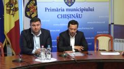Declarații după ședința săptămânală a serviciilor primăriei Chișinău din 14 mai 2018