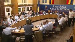 Ședința Consiliului Local Cluj-Napoca din 14 mai 2018