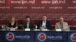 """Conferința de presă cu tema """"Autoritățile electorale refuză nemotivat accesul la listele de subscripție a Silviei Radu"""""""