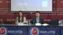 """Conferința de presă organizată de Comunitatea WatchDog.MD cu tema """"Monitorizarea prezenței concurenților electorali în știrile TV - concluzii privind caracterul liber al alegerilor din 20 mai"""""""
