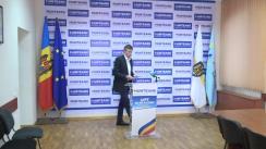 """Conferință de presă susținută de Dorin Chirtoacă, fost primar general al mun. Chișinău, cu tema """"20 mai - alegerile primarului mun. Chișinău"""""""