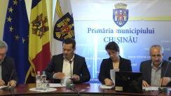 Ședința săptămânală a serviciilor primăriei Chișinău din 21 mai 2018