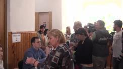 Alegeri Chișinău 2018: Exprimarea votului de către candidatul la funcția de primar general al mun. Chișinău, Silvia Radu