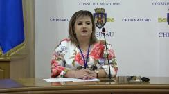 Alegeri Chișinău 2018: Briefingul Consiliului electoral de circumscripție electorală municipală Chișinău nr.1 - situația la deschiderea secțiilor de votare