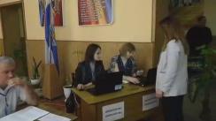 Alegeri Bălți 2018: Exprimarea votului de către candidatul la funcția de primar general al mun. Bălți, Elena Grițco