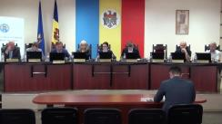 Ședința extraordinară a Comisiei Electorale Centrale din 20 mai 2018