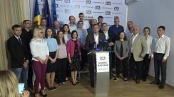 Alegeri Chișinău 2018: Briefing de presă susținut de candidatul PPDA la funcția de primar general al Chișinăului, Andrei Năstase, după anunțarea parțială a rezultatelor alegerilor