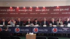 """Conferința de presă organizată de Agenția de inspectare și Restaurare a Monumentelor cu tema """"Colaborarea Franța-Moldova: un patrimoniu comun, obiective comune"""""""