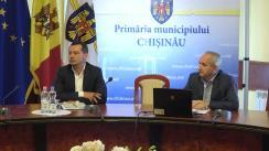 Declarații după ședința săptămânală a serviciilor primăriei Chișinău din 21 mai 2018
