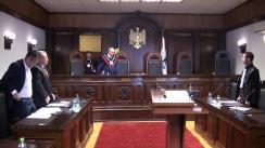 Curtea Constituțională examinează sesizarea privind modul de declarare în vamă a mărfurilor introduse în țară