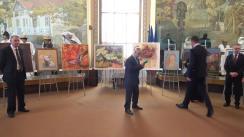 """Inaugurarea Expoziției internaționale a plasticienilor și sculptorilor francofoni """"Unitate în lumină și diversitate în culori și forme"""""""
