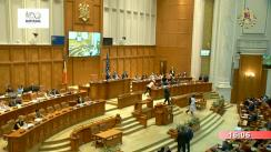 Ședința în plen a Camerei Deputaților României din 22 mai 2018