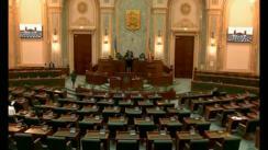 Ședința în plen a Senatului României din 23 mai 2018