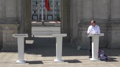 Dezbateri publice dintre candidatul PSRM la funcția de primar general al municipiului Chișinău, Ion Ceban, și candidatul PPPDA la funcția de primar general, Andrei Năstase
