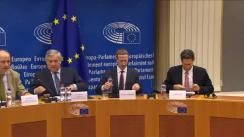 Conferința Președinților în Parlamentul European cu participarea CEO Facebook, Mark Zuckerberg