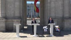 Dezbateri publice dintre candidatul PSRM la funcția de primar general al municipiului Chișinău, Ion Ceban, și candidatul PPPDA la funcția de primar general, Andrei Năstase, pe tema construcțiilor ilegale