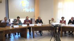 """Dezbaterea cu tema """"Evoluții demografice în contextul dezvoltării economico-sociale a României"""""""