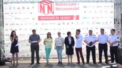 Meci amical prilejuit Zilei Internaționale de comemorare a persoanelor decedate de SIDA