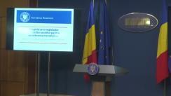 Declarații de presă susținute de Ministrul Finanțelor Publice, Eugen Teodorovici